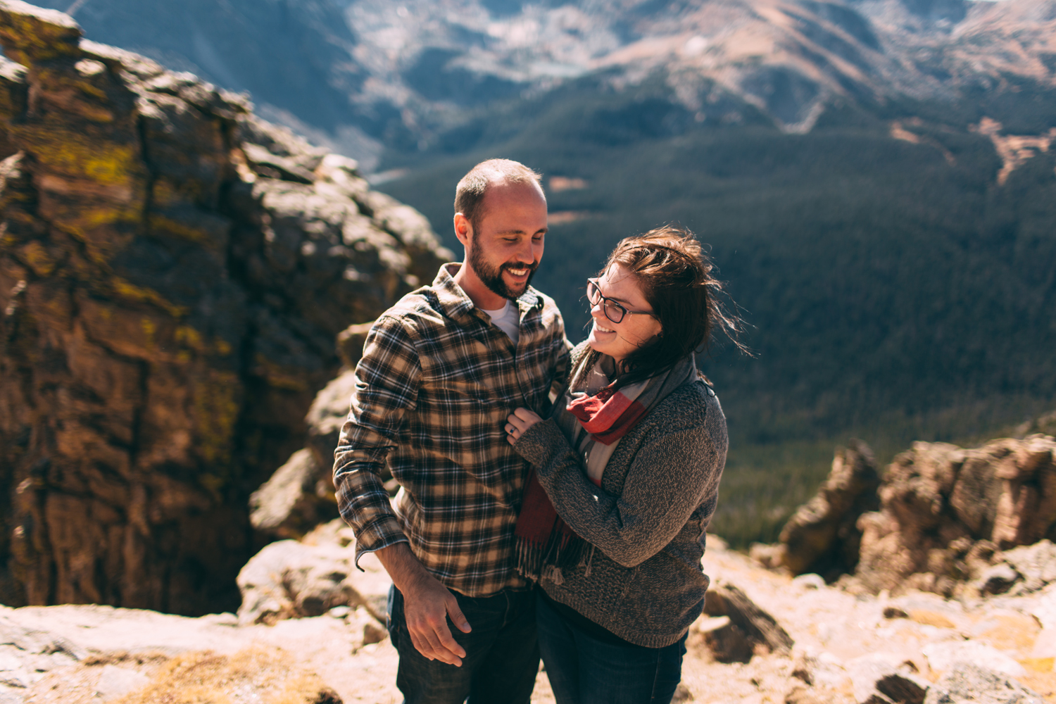 Jillian VanZytveld Photography Rocky Mountain National Park Engagement Portraits - 57.jpg