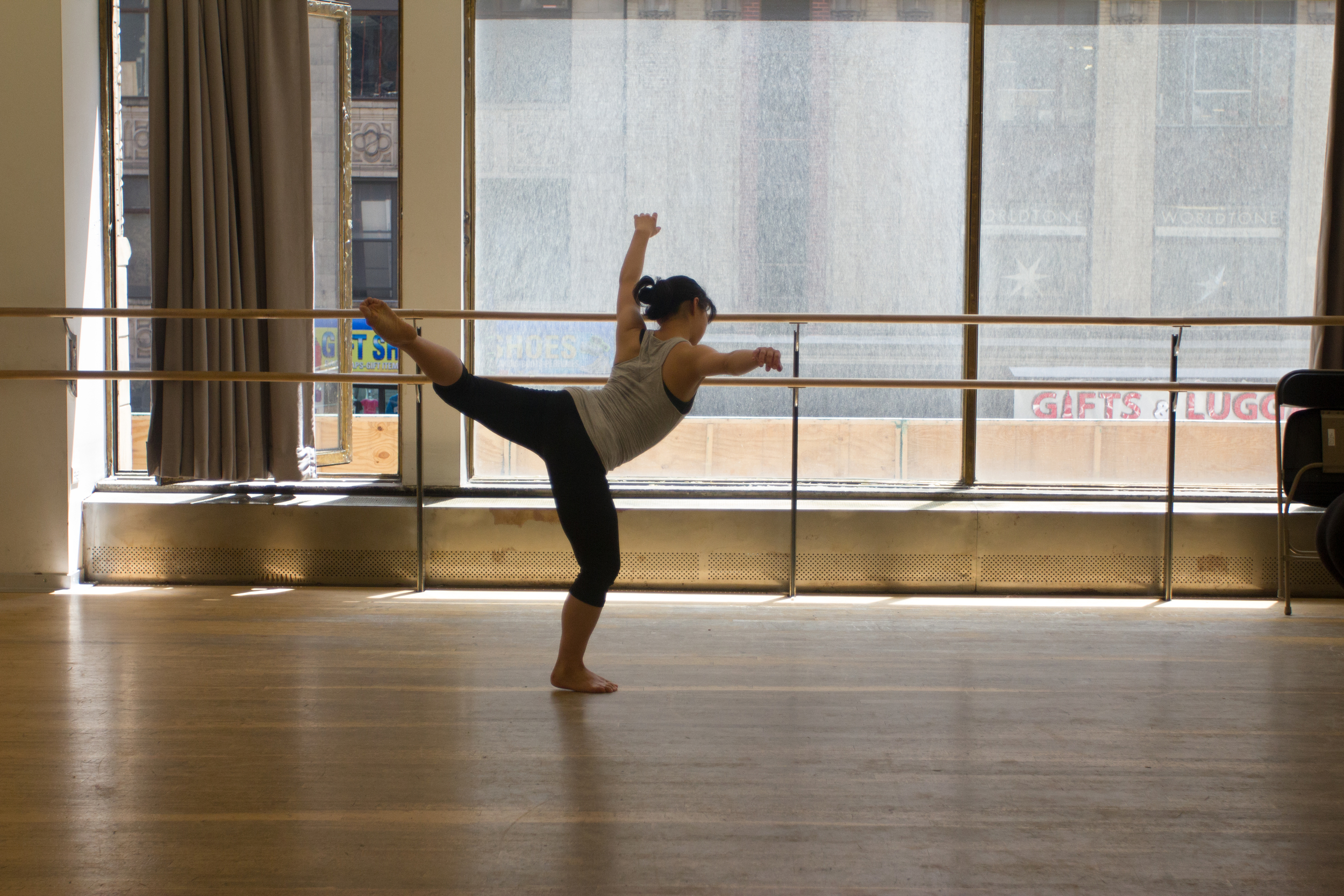 """""""I love practicing alone, before anyone else has awoken, when it's just me and the possibility of an empty dance floor,"""" she said. """"I can't imagine life without movement."""""""