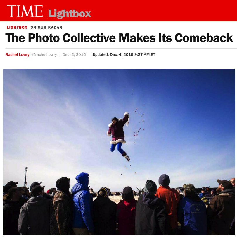 THE PHOTO COLLECTIVE MAKES ITS COMEBACK   AFTER THE RESTRUCTURING OF THE PHOTOGRAPHER-RUN COOPERATIVE AGENCY LUCEO IN 2012, THE COLLECTIVES PRIME AND BOREAL ARE MOVING FORWARD CONFIDENTLY AS THEY ADD NEW MEMBERS.   TIME LIGHTBOX/DECEMBER 2015