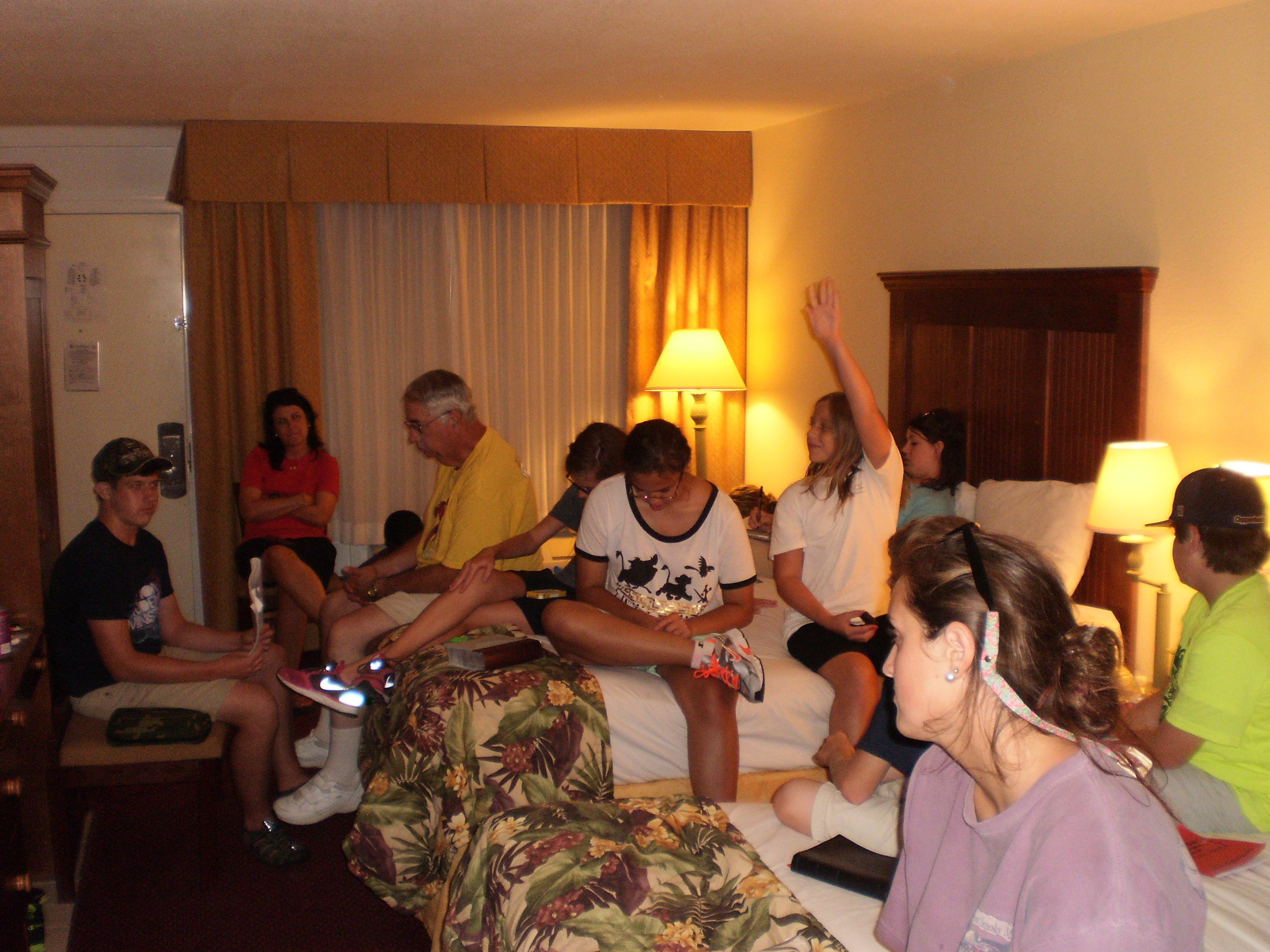 Devotional and Debriefing