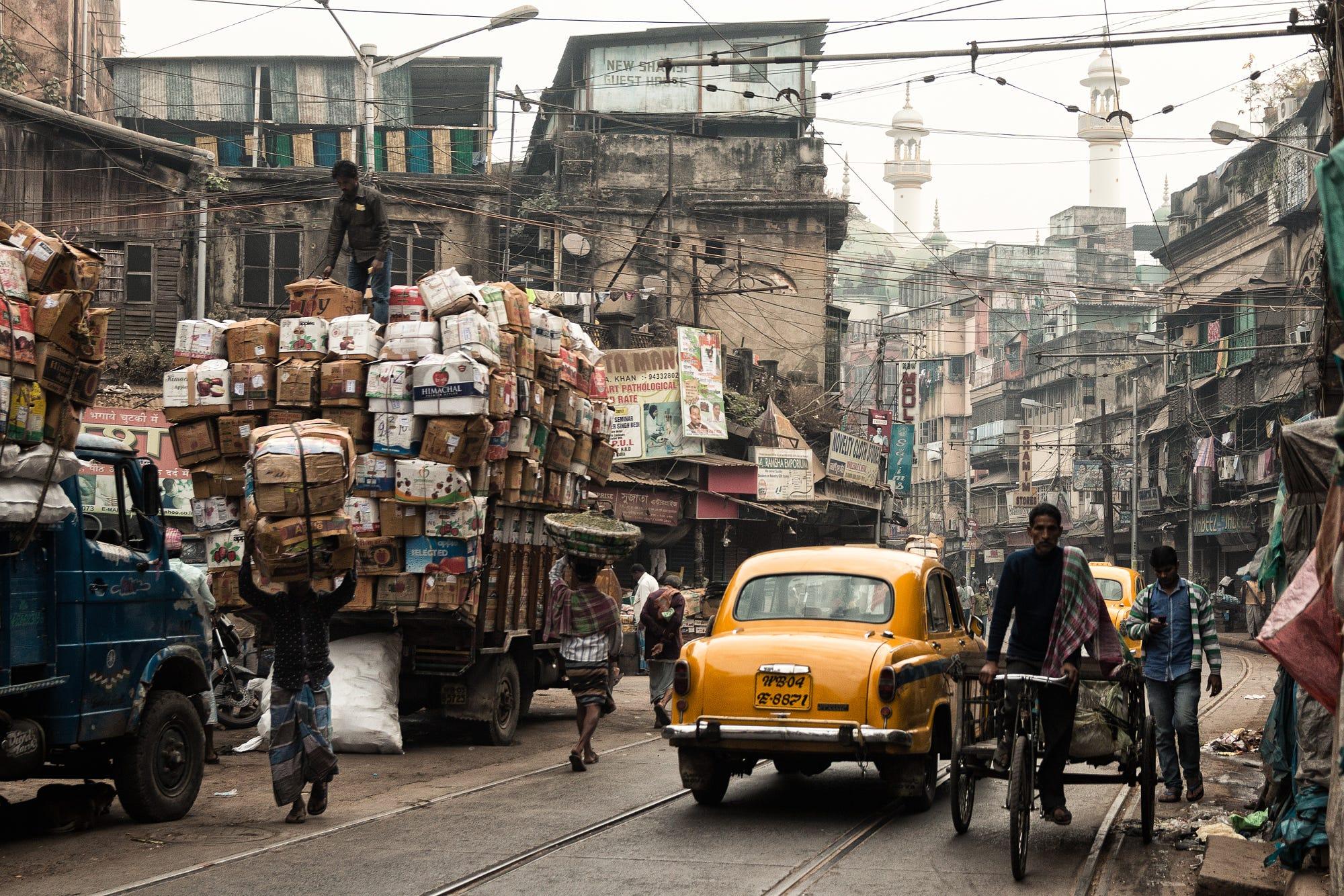 rush hour traffic india chai break.jpg