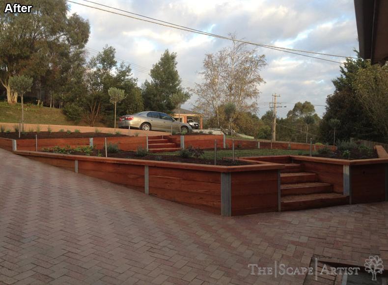 Garden planters in Ballarat