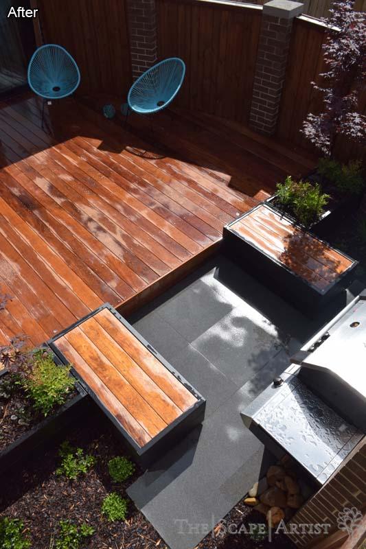 Deck with outdoor seating near Ballarat