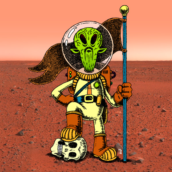Martian Overlord   2016
