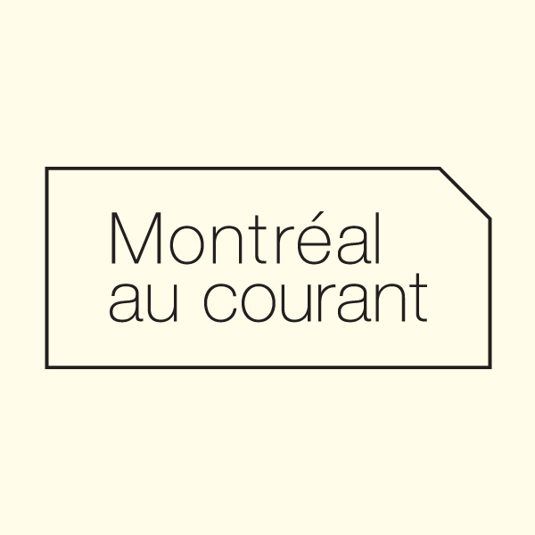 Logo for an upcoming magazine focusing on Montreal's fashion scene.