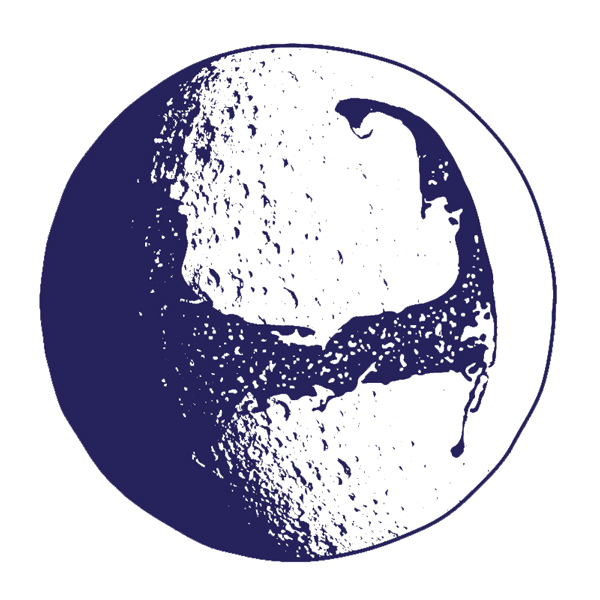 Cape Cod Moon Icon for the 2017 Official Cape Cod Lunar Phase Calendar.