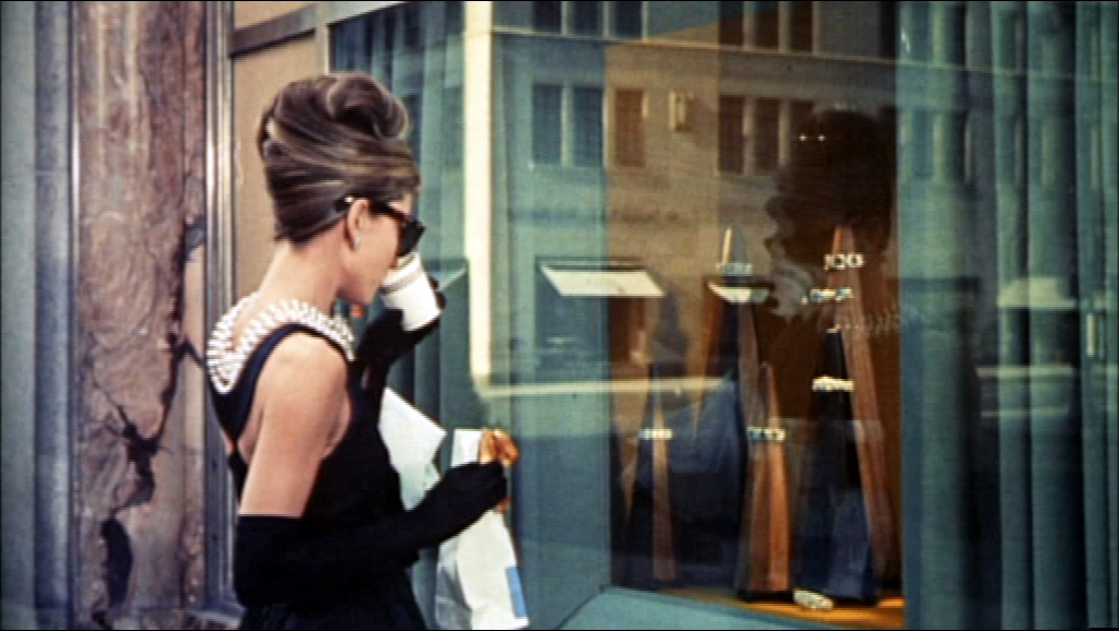 One of the most famous movie opening scenes of all time; Breakfast at Tiffany's