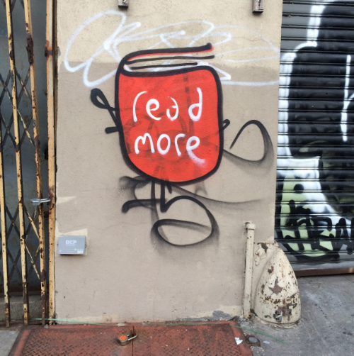 Graffiti in Bedstuy I saw last week...