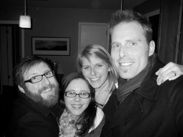 Good lord we look so stinkin' young in this photo.