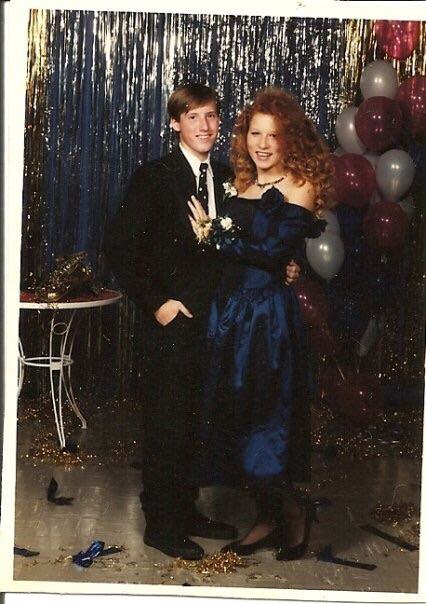 Note the black on black Chuck Taylor's. Told you I was Duckie.