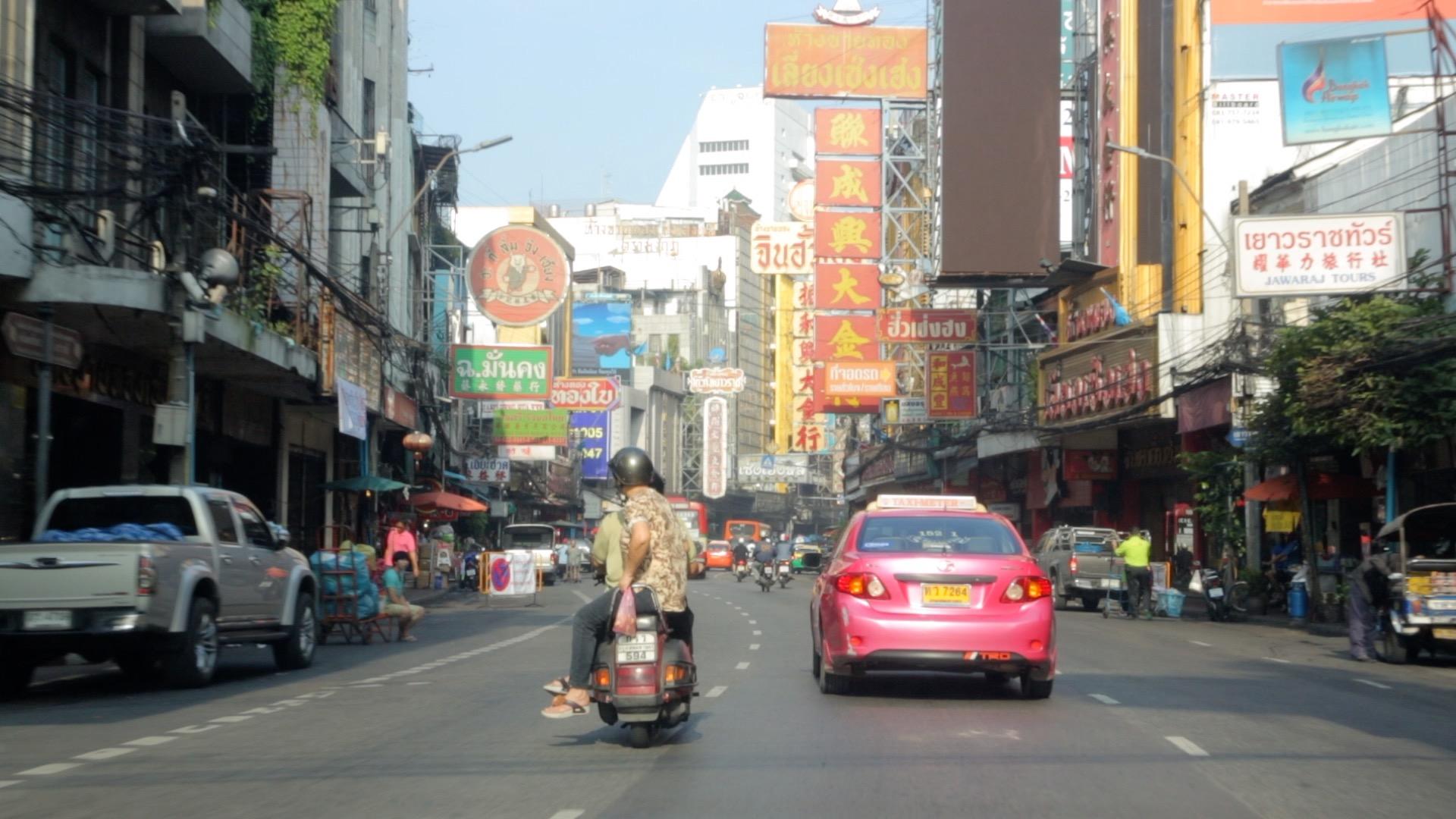 Street scene in Bangkok, Thailand. 2014