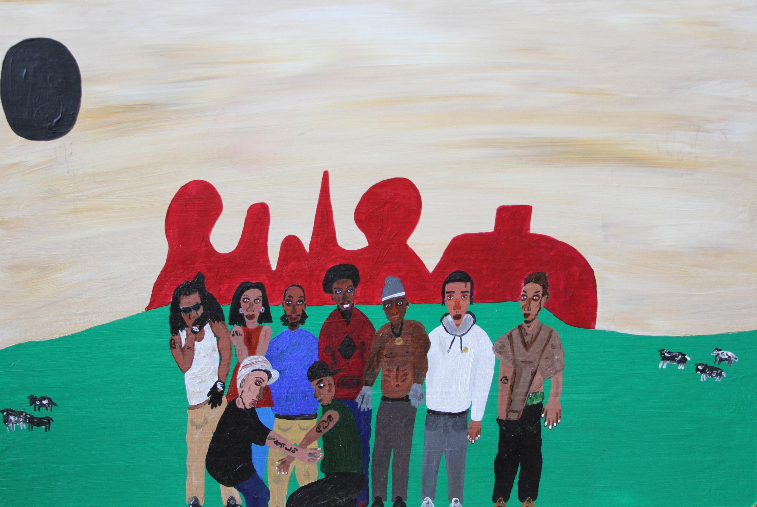 kids at juvenile detention ranch