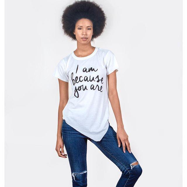 Happy International Women's Day!! #IAmBecauseYouAre ❤️ Available at ShopFarai.com