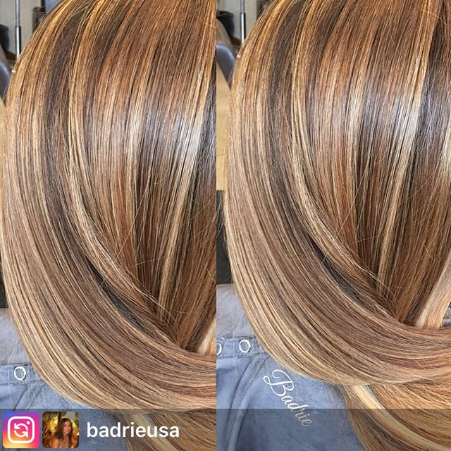 #Repost from @badrieusa. A beautiful #Hilite on this gorgeous client. . . .  #salonetoiles #certifiedhaircolorists  #longhair #brunette #olaplex  #celebrityhairstylist  #straighthair  #hair #hairstyles  #hairstylist  #hairinspo  #washingtondc #viennava #modernsalon #americansalon #instahair #behindthechair #mastercolorist #hairofinstagram #wella #wellaprofessionals #marylandhairstylist  #virginiahairstylist #coloredhair #wellalife #healthyhair