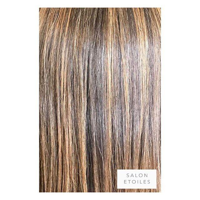 Subtle #highlights on this healthy head of hair followed by a #brazillianblowout. Hair by @nasim.etoiel . . .  #salonetoiles #americansalon #behindthechair #coiffeur #certifiedhaircolorists #instahair #virginiahairstylist #marylandhairstylist #longhair #straighthair #brunette #haircolor #hairstyles #hairstylist #washingtondc #viennava #healthyhair #modernsalon #renefurturer #renefurturerusa #shinnyhair #straighthair #btc #haircut #summerhair