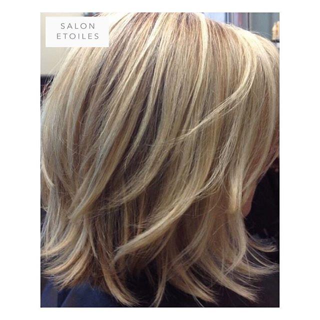 #Blonde #bobhaircut, #haircolor and #highlights for this springtime look. Hair by @nasim.etoiel. . . .  #salonetoiles #virginiahairsalon #virginiahairsalon  #behindthechair #modernsalon #americansalon  #blondehair #blondehighlights #staighthair #blowdry #haircut  #blondes #hair #celebrityhairstylist #washingtondc #hairstyles #hairstylist #instahair #hairgoals #healthyhair #shinnyhair #shorthair