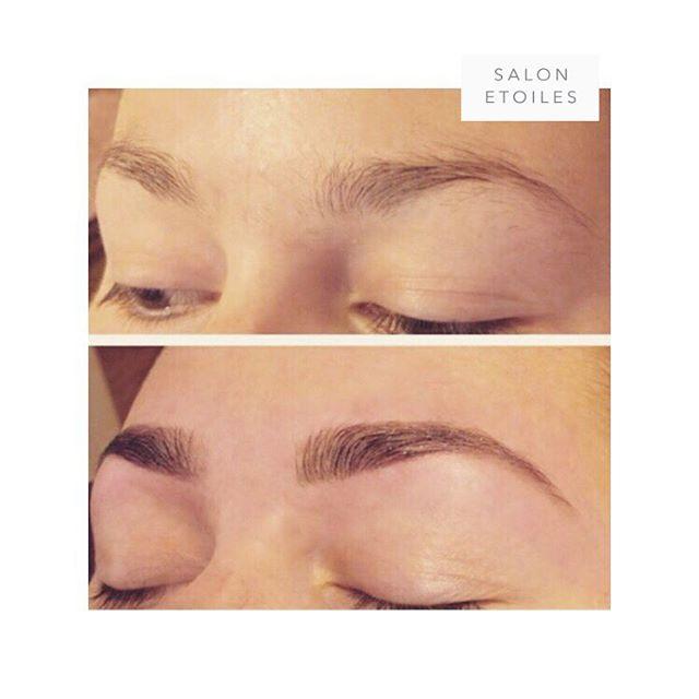 Semi-permanent #eyebrowtinting and shaping. By @nasim.etoiel. . . .  #eyebrow #brows #beauty #flawless #flawlesseyebrows #maryland #marylandsalon #virginia #virginiasalons #washingtondc #viennava #hairsalon #salonetoiles #eyebrowthreading #eyebrowsonfleek #eyebrowshape #eyebrowshaping