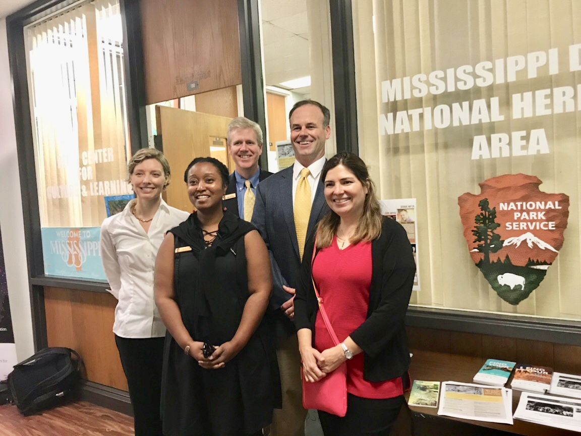 NPS staff for civil rights open house.jpg