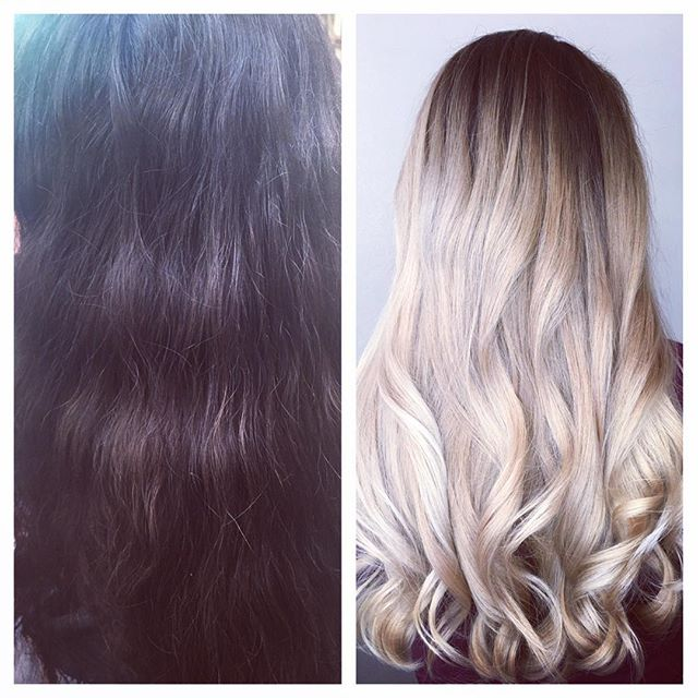 Even with summer ending, a few lengthy visits can get you to the blonde you have always dreamed of! #grandrapidshair #wellaeducation #wella #blondor #blondehair #augusttanaz #milkyblonde #milkyblondehair #blondebalayage #tanaz_hair #modernsalon #renefurterer