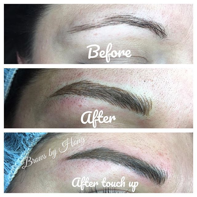 Love to see the complete look! Beautiful, full, and defined.  #eyebrow #eyebrowembroidery #eyebrowtattoo #brows #microblading #eyebrows #semitattoo #tanaz_hair #eyebrowshaping #eyebrowtattoo