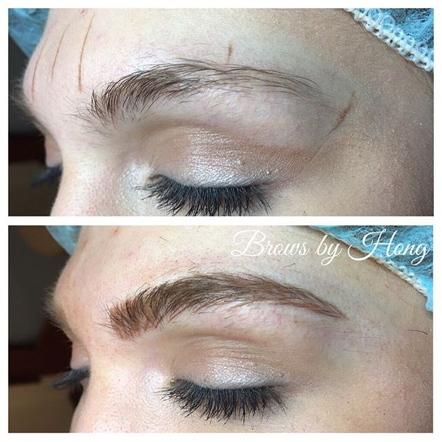 Filled it in, added a bit more, but still natural  #eyebrows #browshaping #browsculpt #microbladingeyebrows #microblading #brows #eyebrowtattoo #eyebrowembroidery #eyebrow