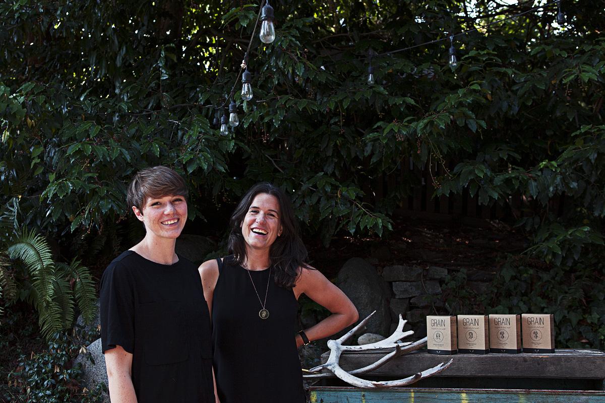 GRAIN founders, Janna Bishop and Shira McDermott