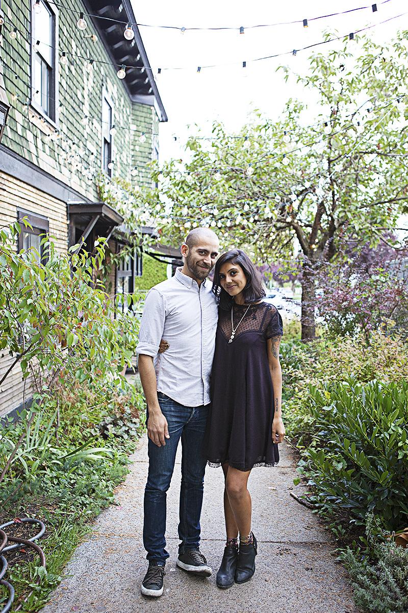 The gorgeous power couple behind Woodlot: Fouad & Sonia.