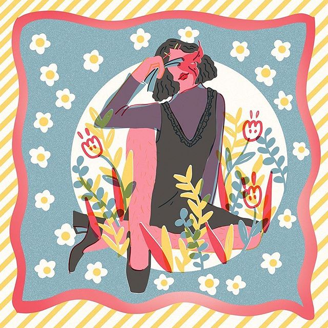 Spring is here, yet I'm too stressed at the moment to fully enjoy the season. -  New square scarf limited edition of 20, available at LAABF next week (I know right next week??!) I will have open edition of different color way available next month as well💕💕