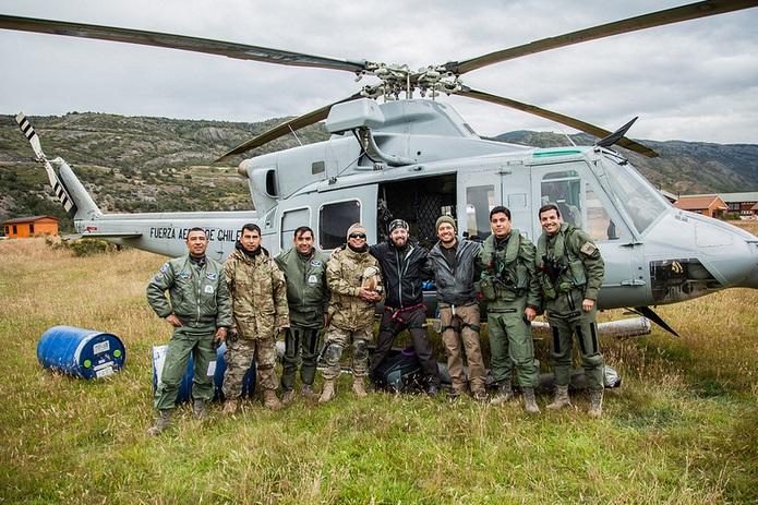 Flight in Patagonia
