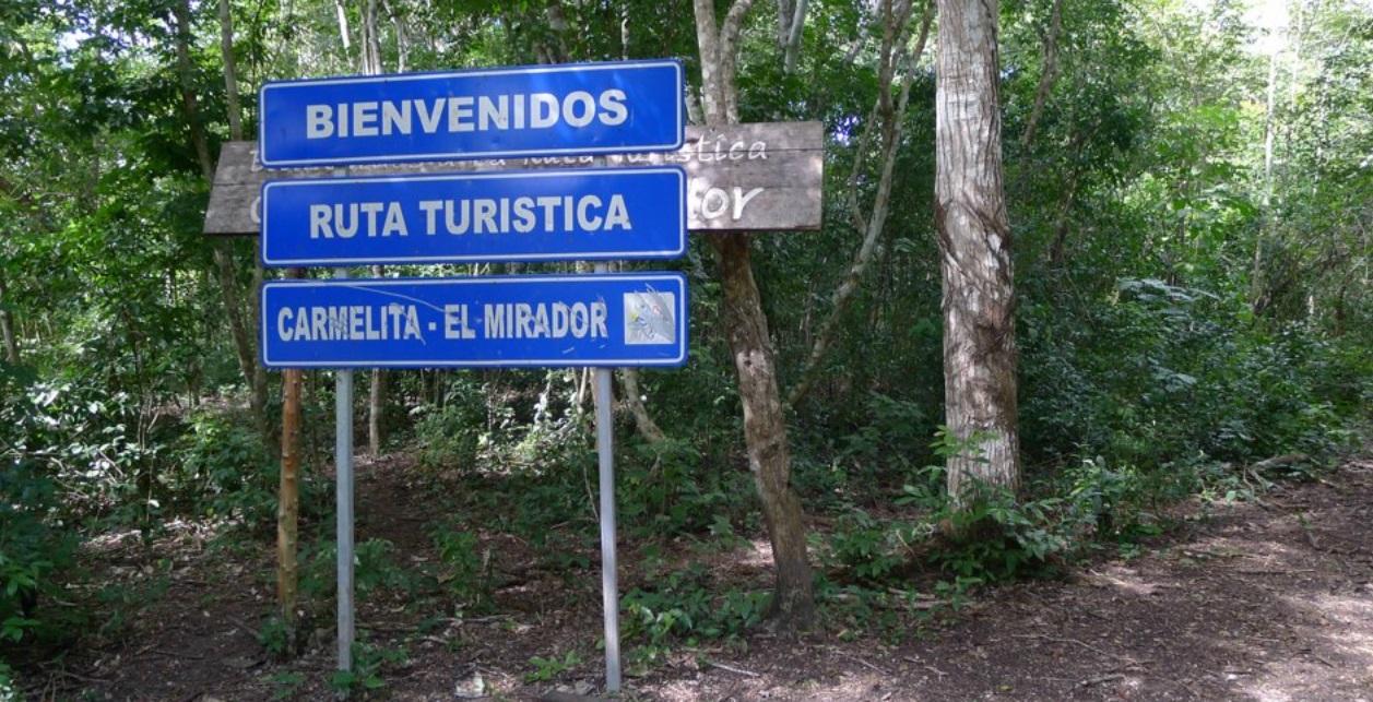 Ruta Turistica Carmelita - El Mirador; Guatemala