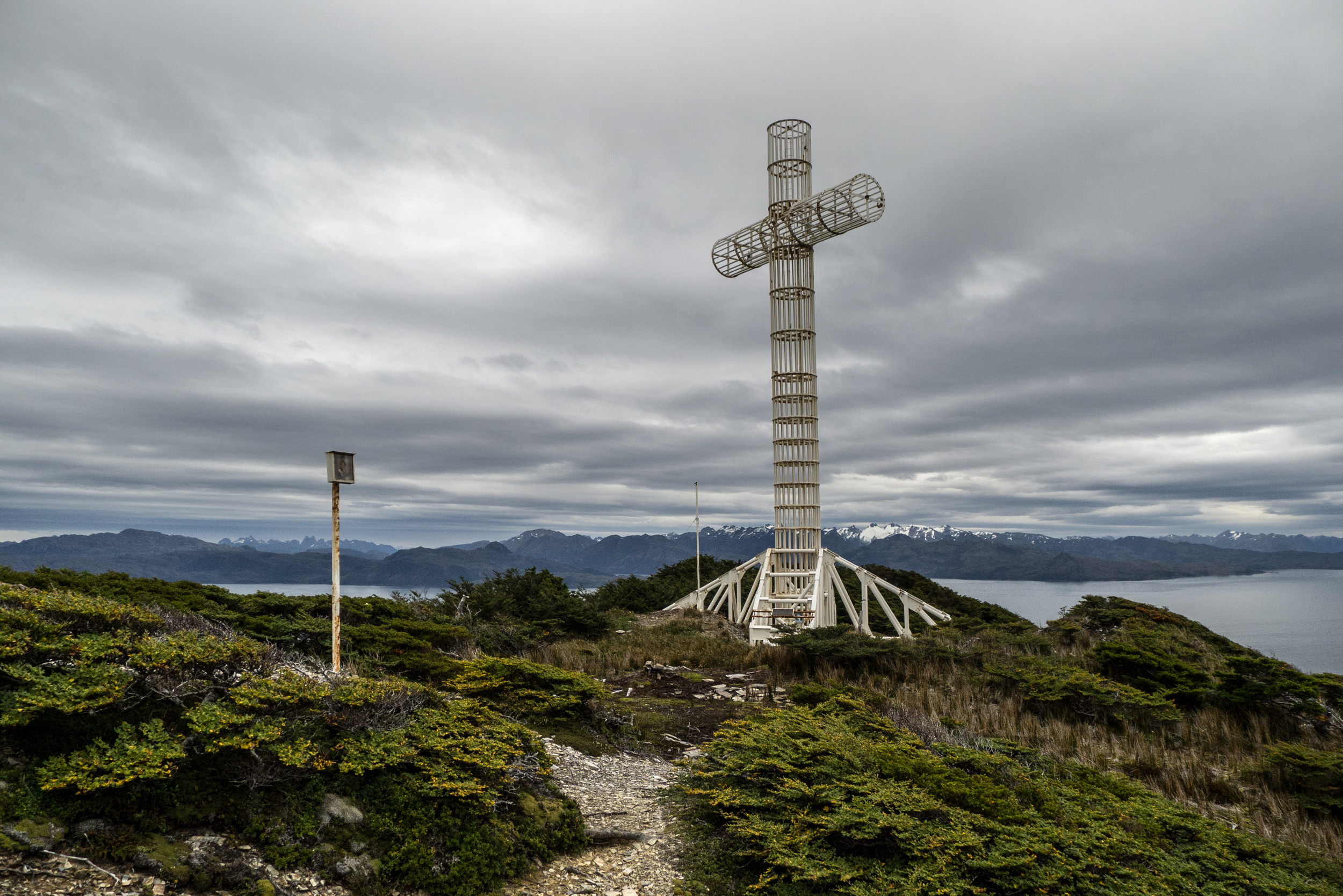 Cabo Froward, the Cross for Pope Paul