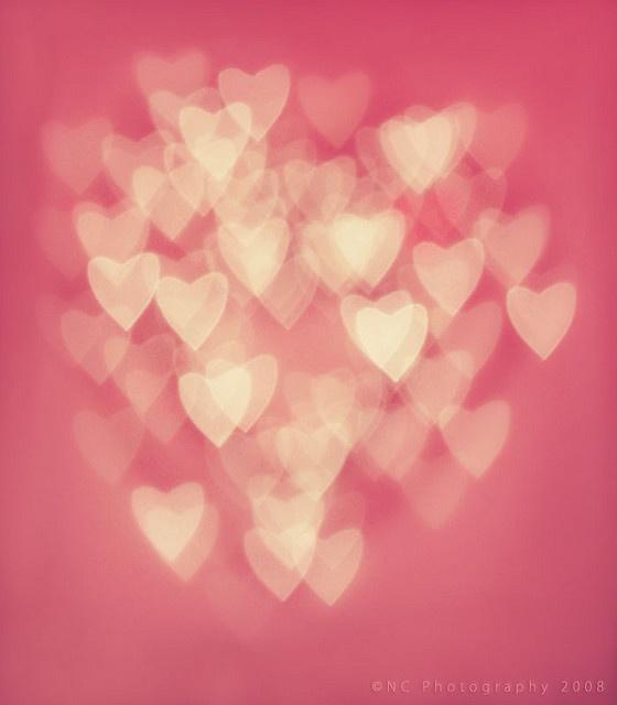 Bokah hearts