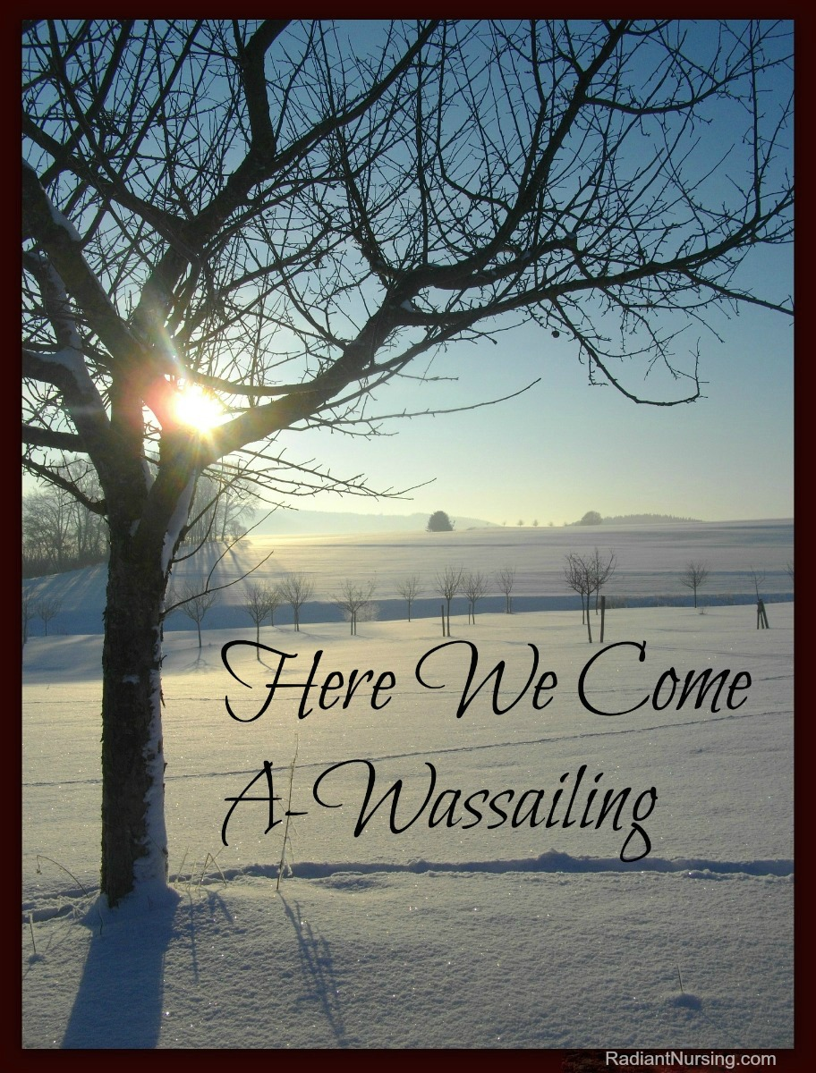 Here We Come A-Wassailing. Learn more about this wonderful tradition of the winter holidays.