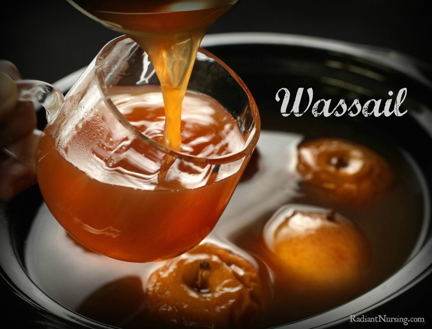 A delicious Wassail drink with an apple cider base. To be enjoyed at Christmas and New Year's.