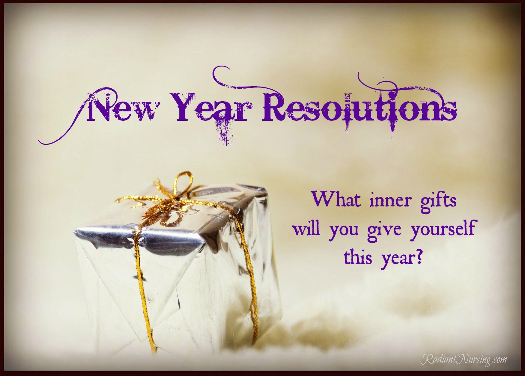 New Year Resolutions with Radiant Nursing.