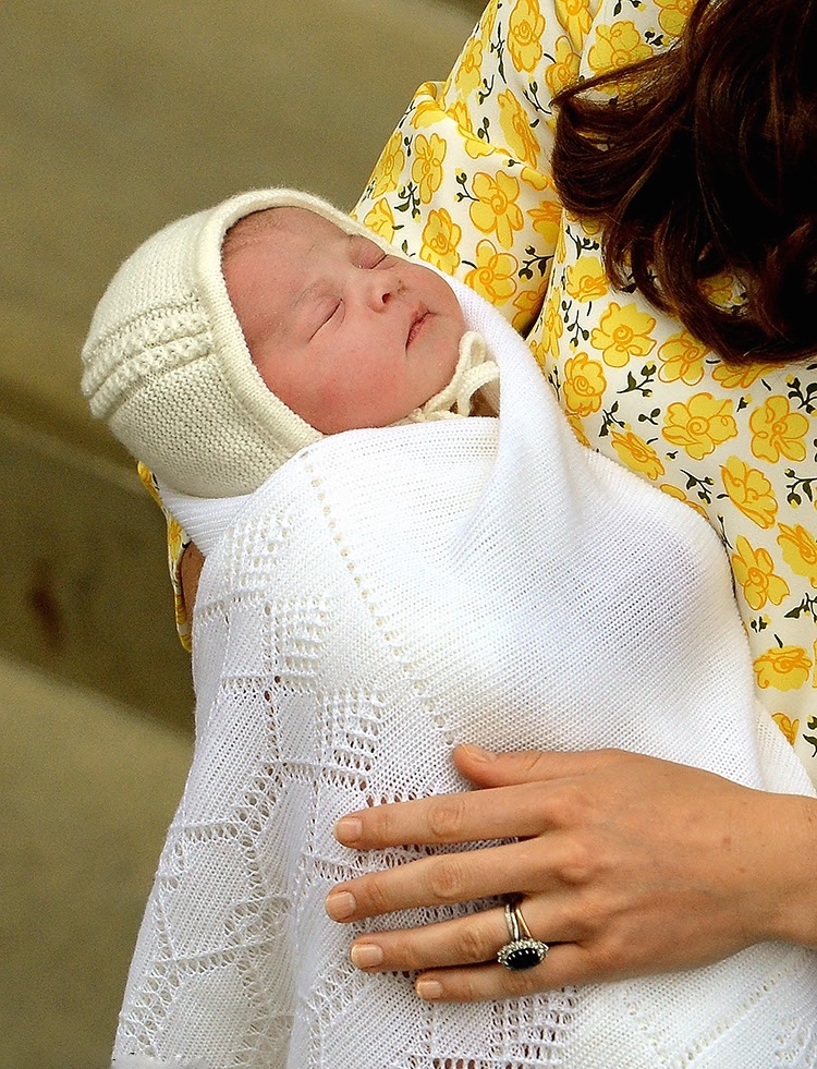 The new Princess of Cambridge born 02 may 2015.