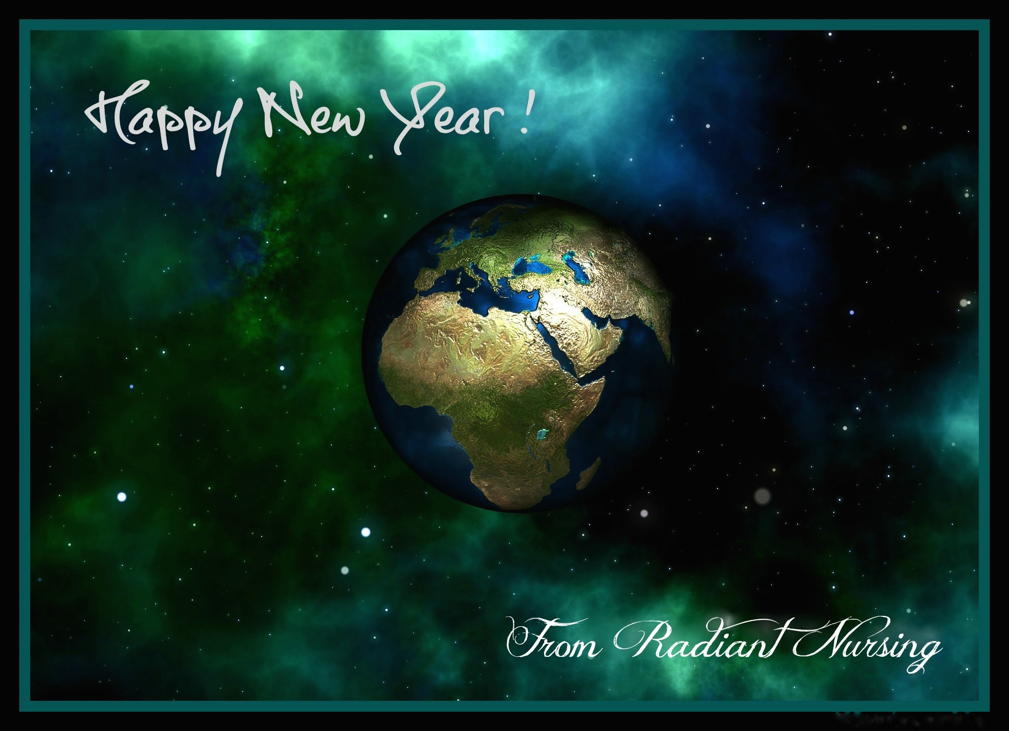 Happy New Year from Radiant Nursing.