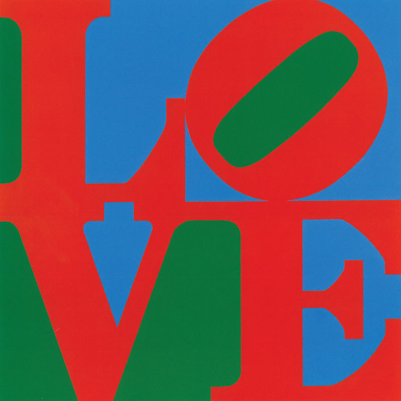 Love by Robert Indiana in 1966.