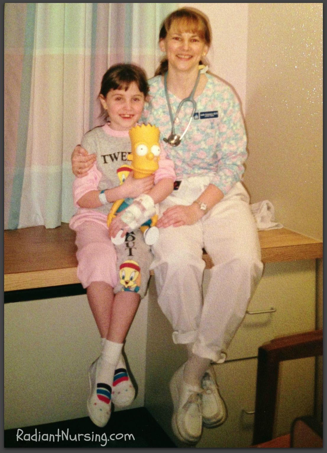 Remember your first nursing job? Working in Pediatrics.