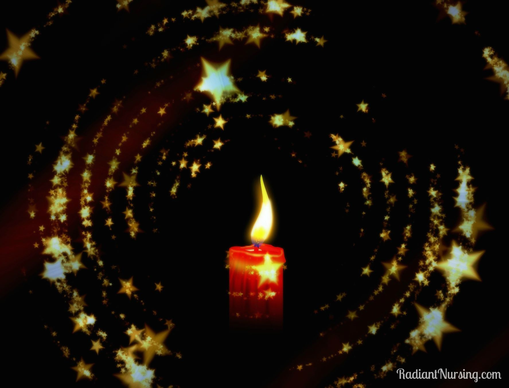 A candle in the dark can still light the way.