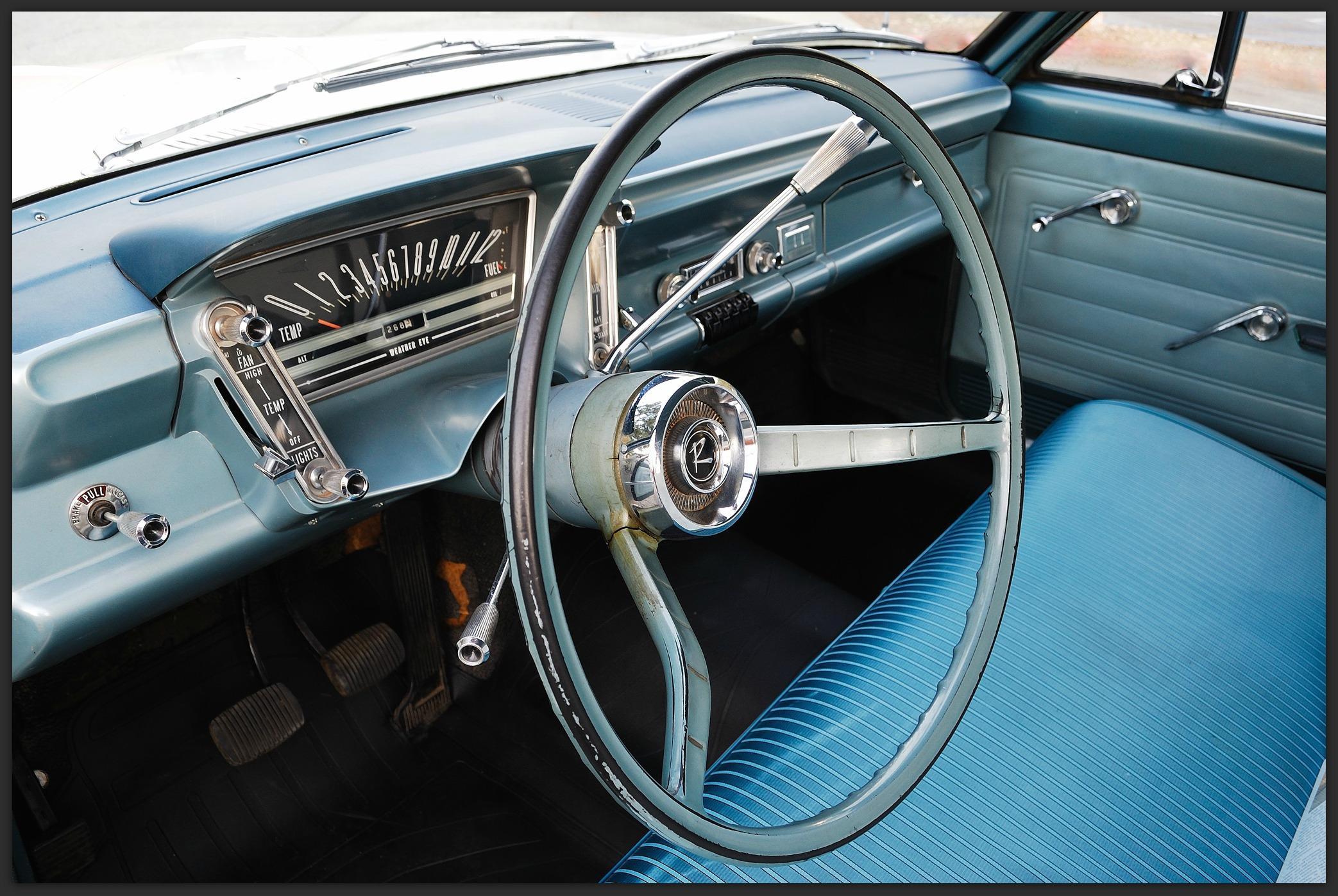 1964 rambler classic,3 speed on the column