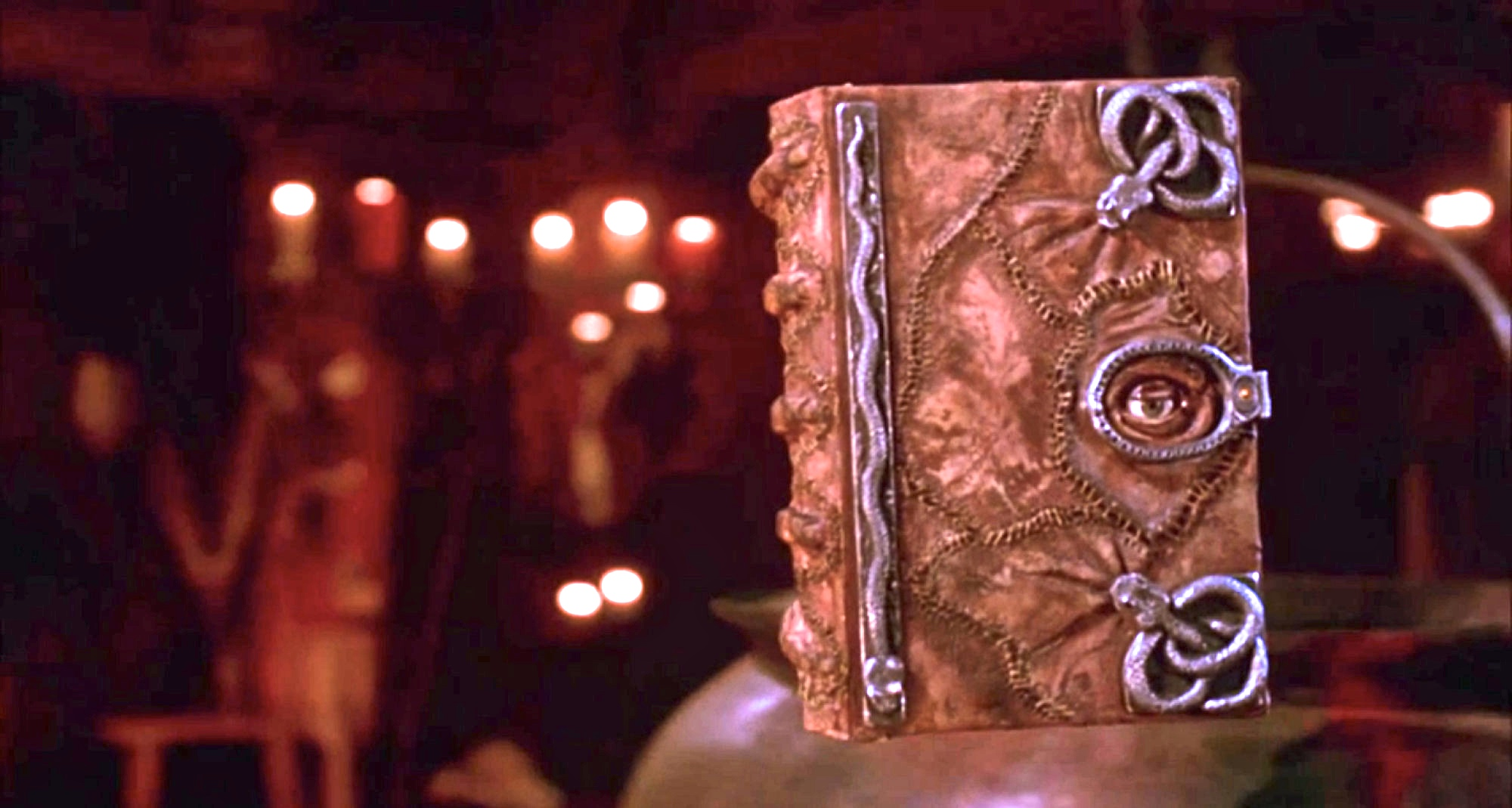 The Magic Book of Spells from Disney's movie Hocus Pocus. A must-see for Halloween.