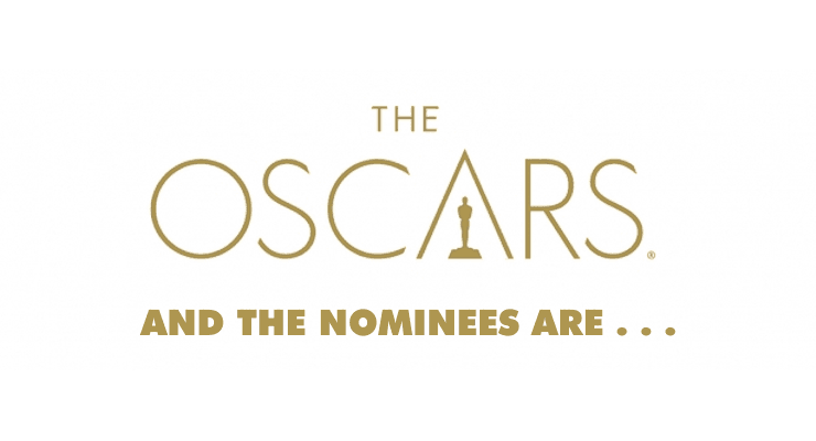 And the nominees are... are you watching The Oscars?