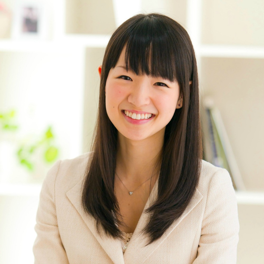 Marie Kondo offers guidance for how to tidy up and declutter.