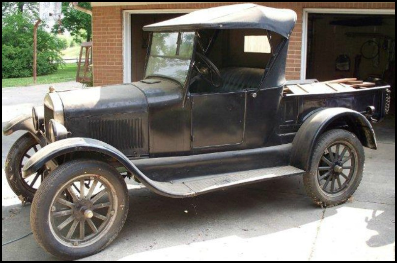 Model T Ford with Pickup Body from 1927.