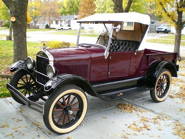 Model T Ford Roadster.