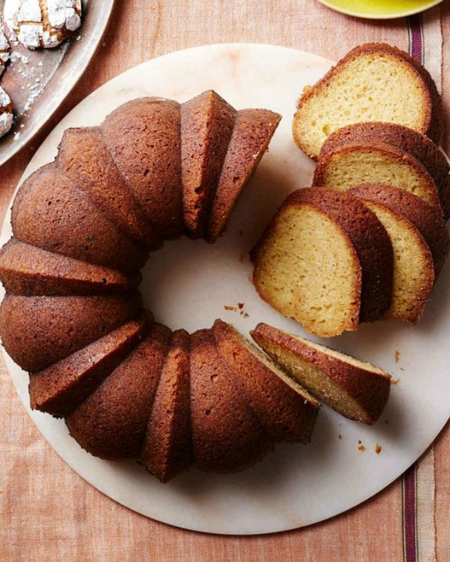 Kentucky Bourbon Brown Butter Bundt Cake is perfect to make for Election Day.