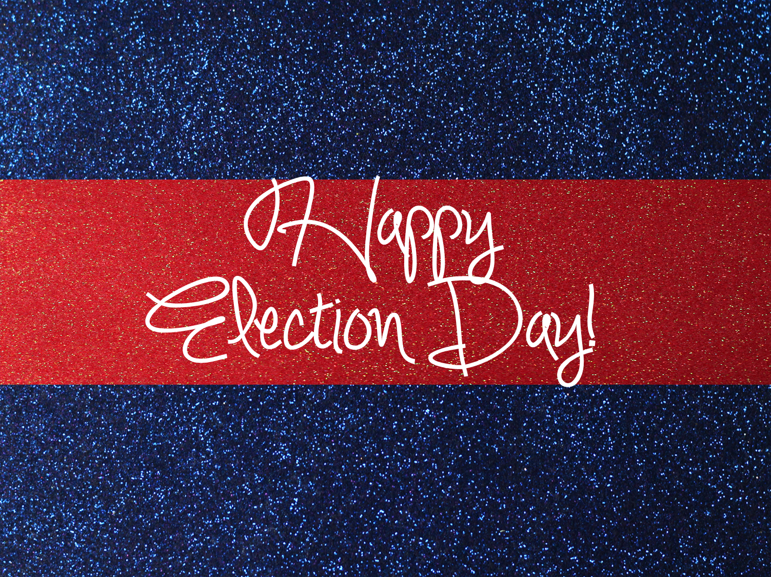 Happy Election Day! Be sure to exercise your privilege of voting.