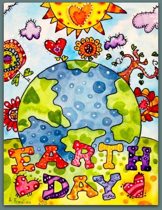 Earth Day is celebrated each year on April 22. Caring for our Earth!