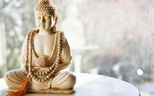 Image of Buddha captures serenity. But life is a wild ride.